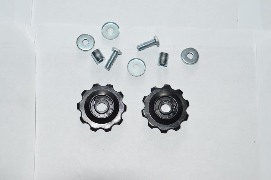 Звезда маленькая заднего переключателя цепи 2 штуки в упаковке, код 680083