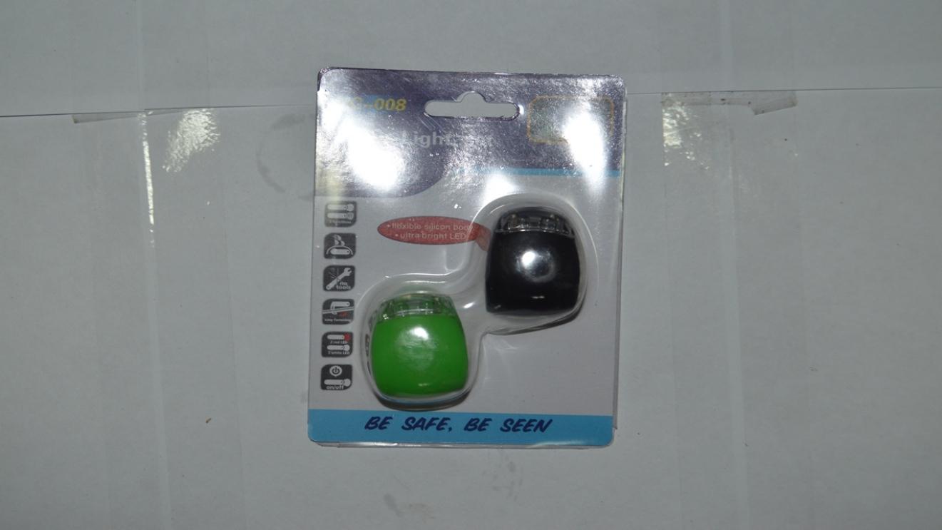 Сигнал передний габарит + задний стоп силиконовый, код 3265112