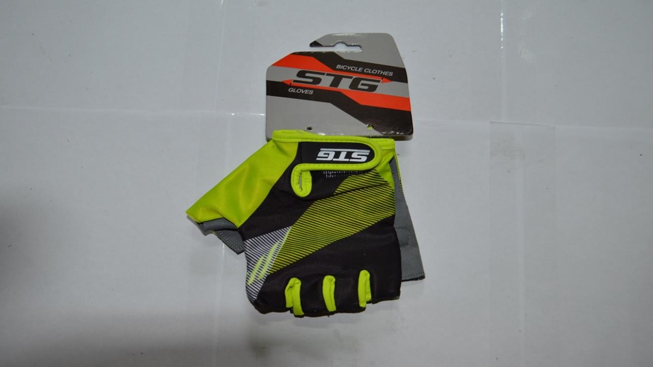 Перчатки велосипедные STG, код 87911