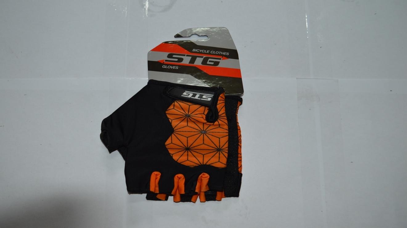 Перчатки STG Replay unisex черно/оранж  Х95305